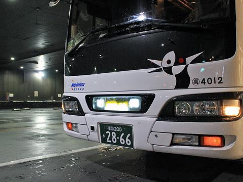 西鉄高速バス「桜島号」夜行便 4012 西鉄天神高速バスターミナル到着_02