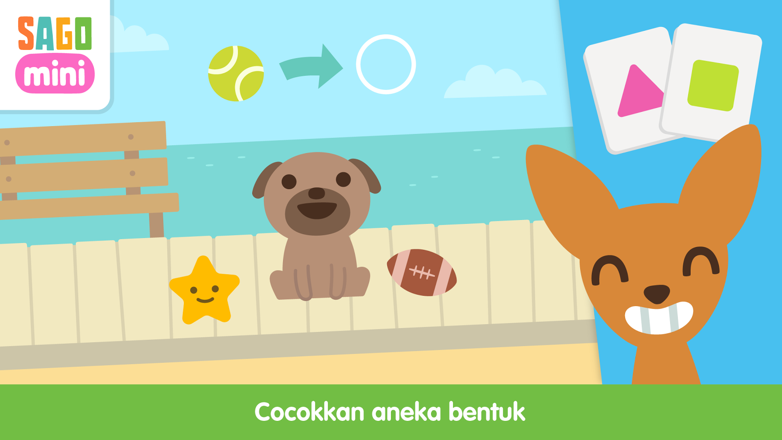 Sago Mini Puppy Park Apl Android Di Google Play
