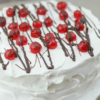 Cherry Cheesecake Ice Cream Cake