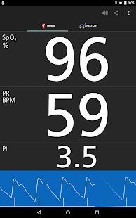 Masimo Personal Health screenshot