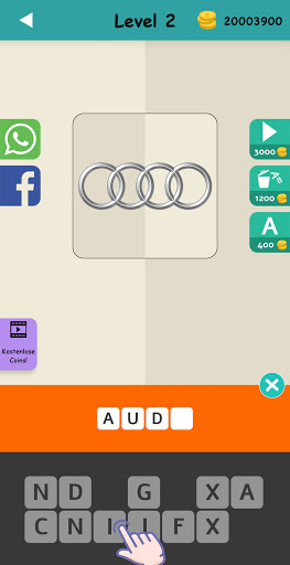 Logo Test: Germany Brands Quiz, Guess Trivia Game 2.1 screenshots 5