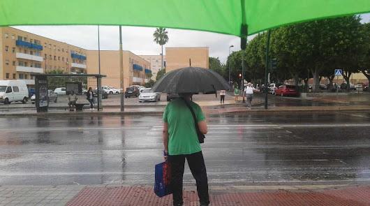 La lluvia regresa este martes a Almería