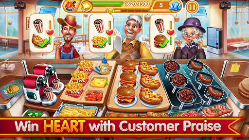 Cooking City: frenzy chef restaurant cooking games screenshots 3