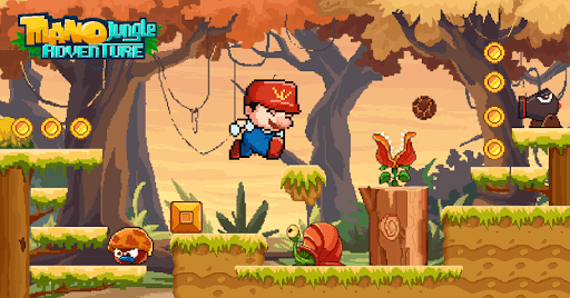 Mano Jungle Adventure screenshot 1