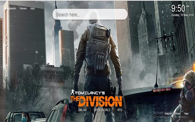 The Division Wallpaper Hd Nueva Pestaña