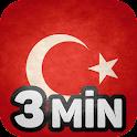 Türkisch lernen in 3 Minuten icon