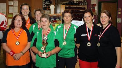 Photo: Doppel Damen – die Siegerinnen