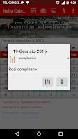 Screenshot of Italia Calendario 2015