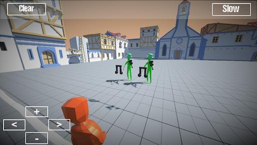 Ragdoll battle simulator apktram screenshots 5