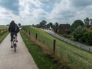 Photo: Fietsen naar Bremen