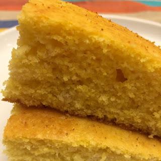 Easy Golden Fluffy Cornbread.