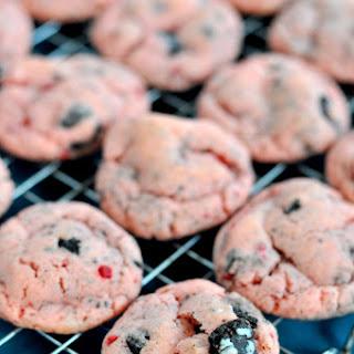 Strawberry Oreo Cake Mix Cookies