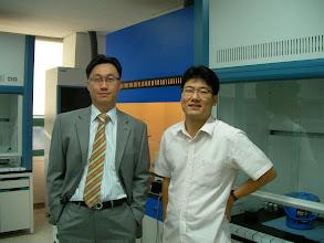 Photo: With Prof. DongKee Yi @ Kyungwon University