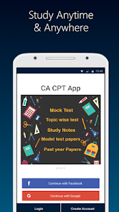 CA CPT Preparation- ICAI Notes & Mock Tests, QUIZ - náhled