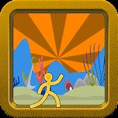 Stickman Underwater Jump