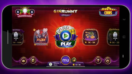 Gin Rummy Online - Free Card Game 1.1.1 screenshots 4
