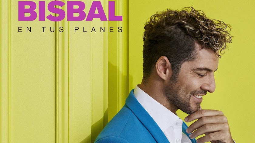 Detalle de la portada del nuevo disco de David Bisbal.