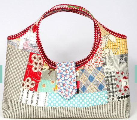 Patchwork Purse - Pattern on Crafsty.com