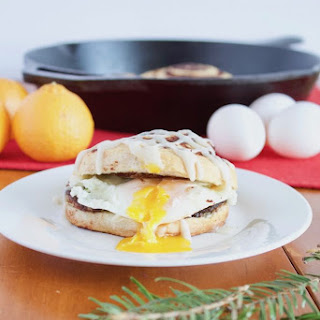 Christmas Morning Breakfast Sandwiches.