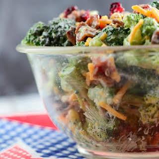 Broccoli Salad #Sunday Supper.
