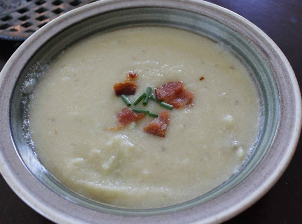 Cauliflower Potato Soup With Leeks Recipe