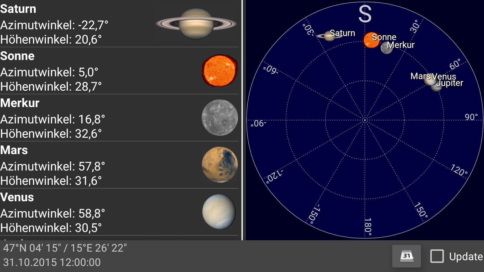 Planeten App