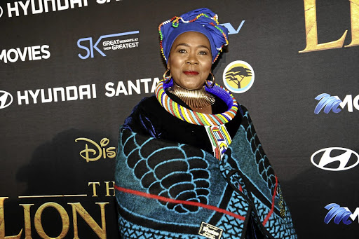 Connie Chiume on blessers: It's the young girls who end up losing out
