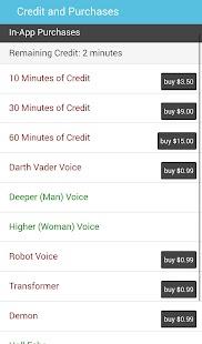 Voice Call Changer- screenshot thumbnail