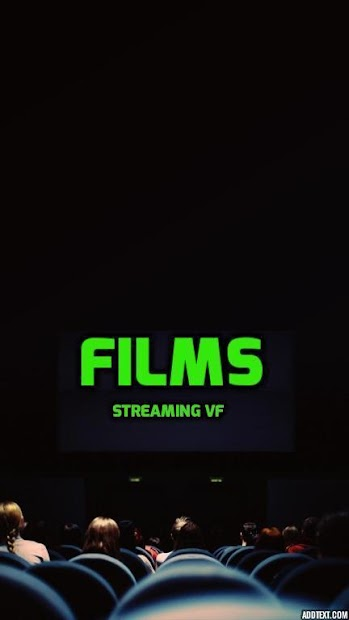 Films streaming VF Android App Screenshot