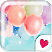Cute wallpaper★Pastel balloon