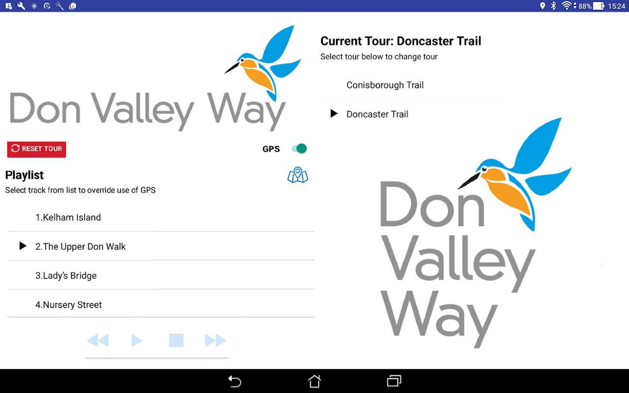 Don Valley Way Audio Guide- screenshot