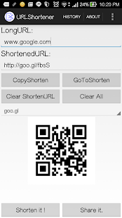 URLShortener- screenshot thumbnail