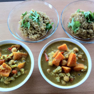Yellow Curry with Sweet Potato Recipe