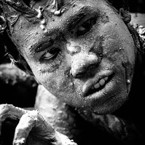 Mud Man by Harri Pratama - People Portraits of Men