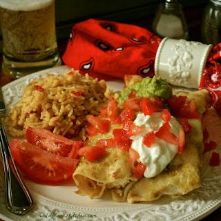 Enchiladas Suizas Verde (Slow Cooker)