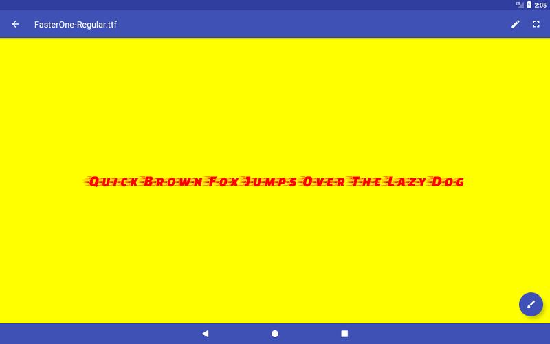 Font Viewer Plus Screenshot 6