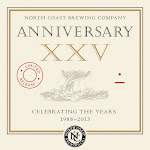 North Coast Twenty-Fifth Xxv Anniversary Ale