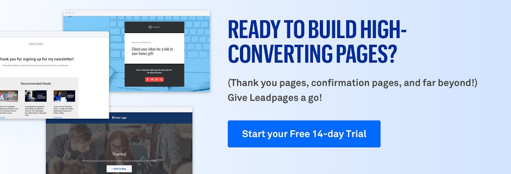 Ready to build high-converting pages?