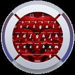 Rose клавиатура TouchPal Theme