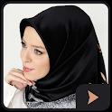 جديد لفات حجاب سهلة بالفيديو icon