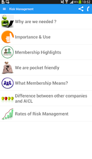 AICL Risk Management- screenshot thumbnail