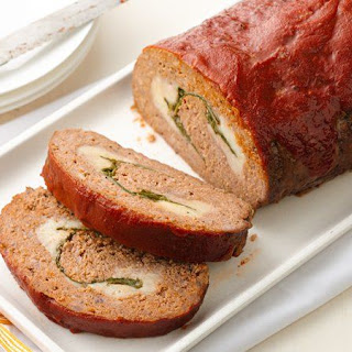 Rolled Italian Meat Loaf