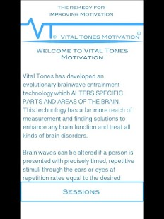 Vital Tones Motivation- screenshot thumbnail