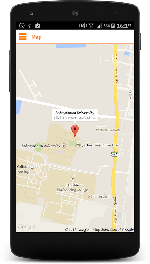 Sathyabama University- screenshot