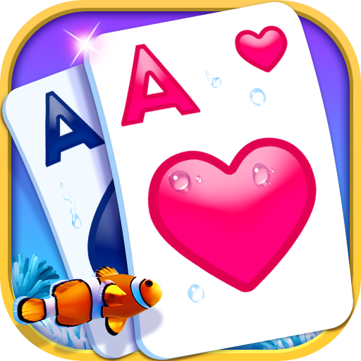 Solitaire-Beautiful SeaWorld theme, funny CardGame