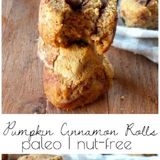 Paleo Pumpkin Cinnamon Rolls