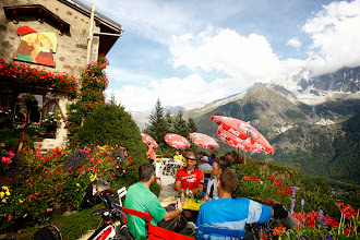 Photo: Départ de Chamonix pour un trip de 8 jours!