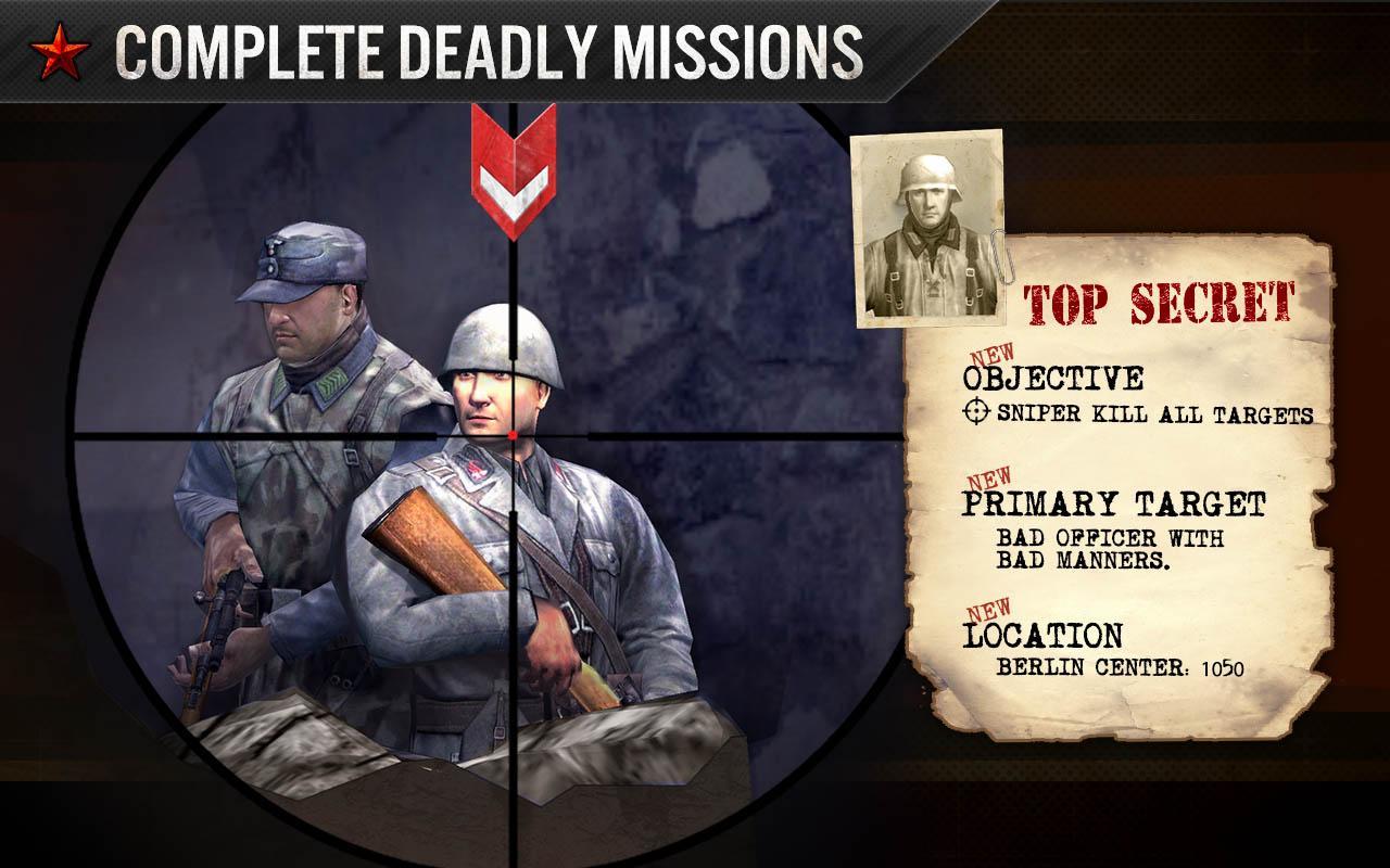 Screenshots of FRONTLINE COMMANDO: WW2 for iPhone