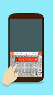 ai.keyboard Comic Book theme- screenshot thumbnail