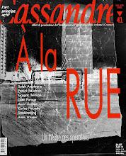 Photo: © Olivier Perrot Couverture Cassandre 42 www.horschamp.org